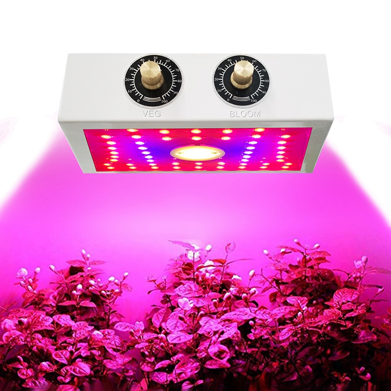 Hot LED Plant Grow Lamp 1100W Full Frequency Indoor Greenhouse Planting Tent Plant Growth Led Adjustable Light Source Lamp EU Pl