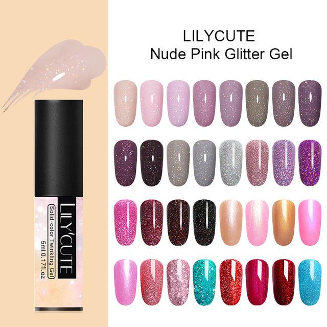 LILYCUTE 5ml  Color Gel Long Lasting