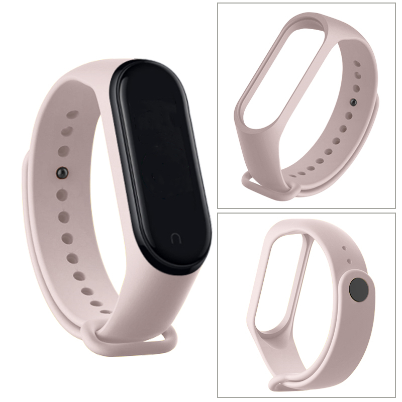Strap For Xiaomi Mi Band 6 5 4 3 Silicone Wristband Bracelet Replacement For Xiaomi Band 4 MiBand 6 5 4 3 Wrist Color TPU Strap