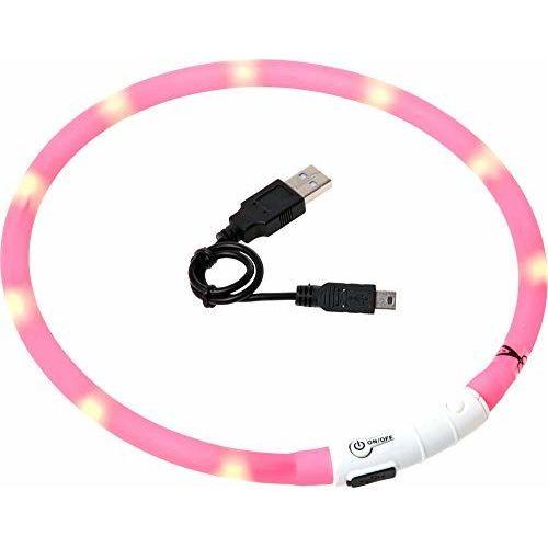 Karlie Visio Light Luce LED Collare Per Cani, 70cm, Accorciabile