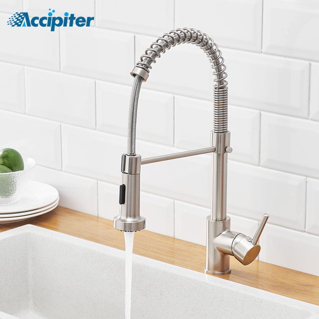 Accipiter Spring Kitchen Sink Faucets Made Of Brass Basin Mixer Faucet Tap Hot And Cold Water Taps Crane Torneira