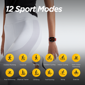 Image 5 - Amazfit GTS Smart Watch 5ATM Water Resistantce and Professional Swim Tracking Sport Watch All day heart rate 14days Battery life