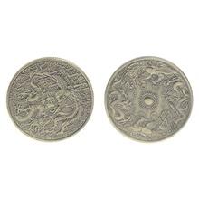 Памятная монета дракон феникс коллекция подарок сувенир ремесла Искусство Биткоин