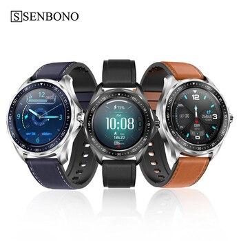 SENBONO S09Plus Smart Watch Bluetooth 5.0 IP68 Smart Clock men women Smartwatch For 2020 Huawei Heart Rate Intelligent Monitor