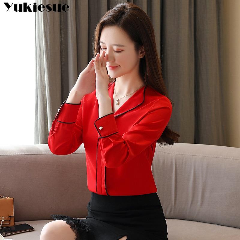 Fashion Woman 2020 Summer Long Sleeve Women S Shirt Blouse Halalcitymart