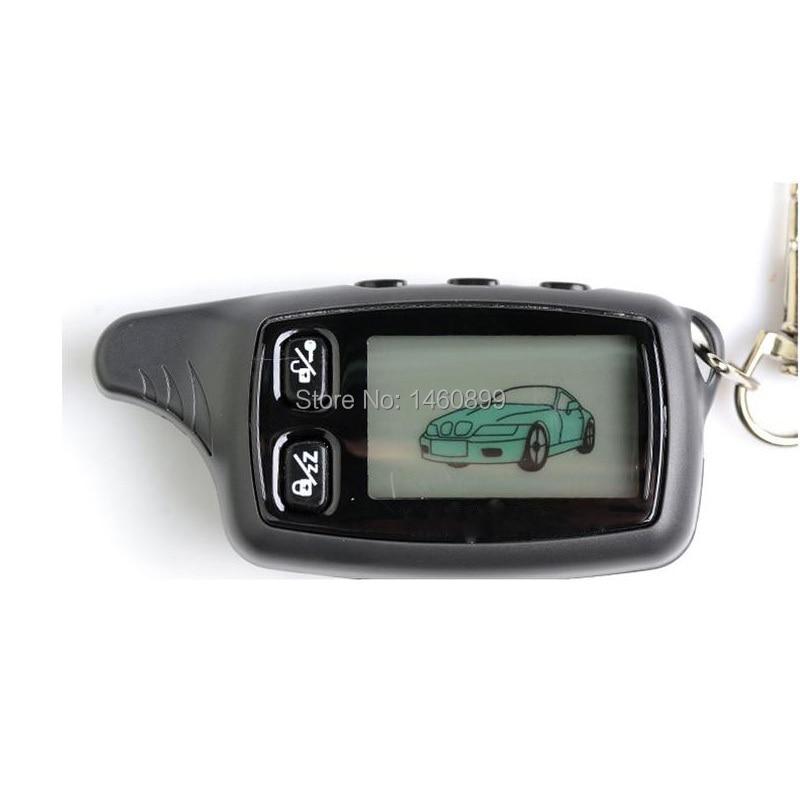 TW-9030 LCD Remote Control Keychain Key for Russian TW 9030 9020 Two Way Car Alarm Tomahawk TW9030 TW9020 TW-9020 TZ7010 TZ-7010