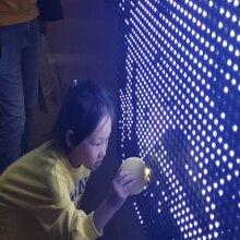 Sichiray 물 센서 LED 보드 물 낙서 보드 회로 대화 형 벽 낙서 벽 또는 테이블 상단 바