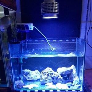 Image 4 - Светодиодный аквариумный светильник высокой мощности, рифовая лампа 10 синих 6 белых 2uv для рыб, коралловых рифов, морских рыбок, SPS LPS, 50 Вт