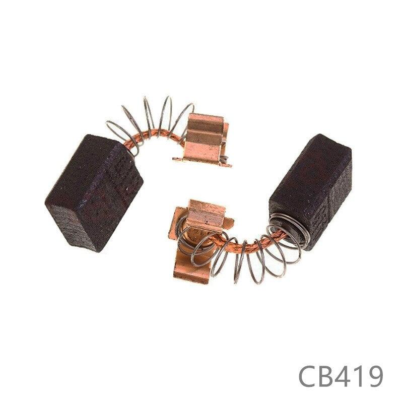 Carbon Brushes Replace For Makita CB419 HR1830 HR2432 HR2450 HR2020 HR1830 HR2450A HR2450T HR2410 HR2475 HR2455 HR2450FT Power