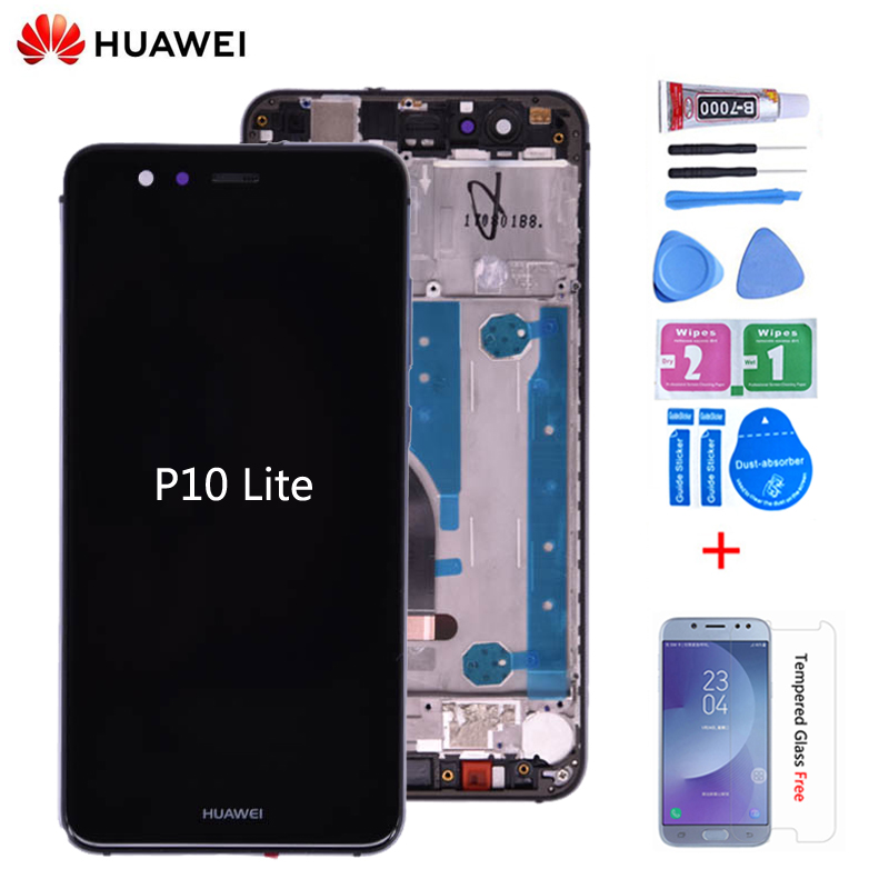 Huawei Assembly Frame Lcd-Display Touch-Screen P10-Lite Digitizer Original for And  title=