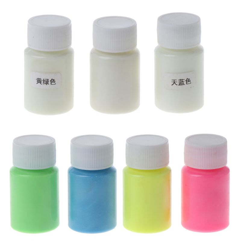 Glow In The Dark Liquid Luminous Pigment Non-Toxic For Paint Nails Resin Makeup Jewelry Tools