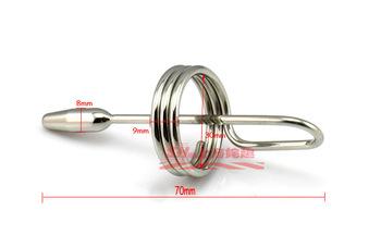 Urthral dilatory zatyczka do penisa cewnik cewki moczowej rozciąganie zabawki erotyczne dla mężczyzn brzmiące wtyczki Urthral tanie i dobre opinie LELEWO CN (pochodzenie) as shown Metal
