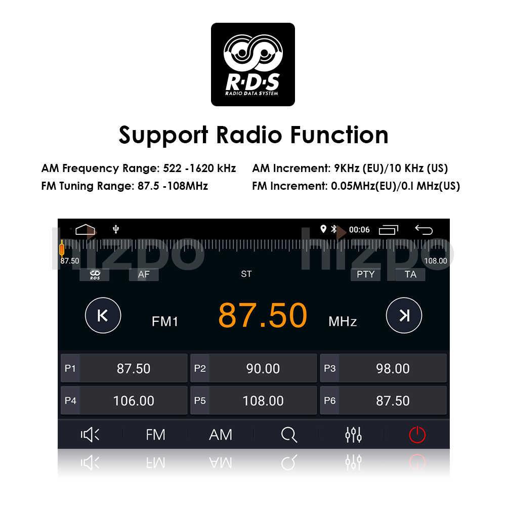 Lecteur DVD de voiture Android 10 | 8 ''2 din, 1080P HD, pour Toyota Corolla E140/150 2007 2008 2009 2010 2011, Wifi, Navigation gratuite, carte