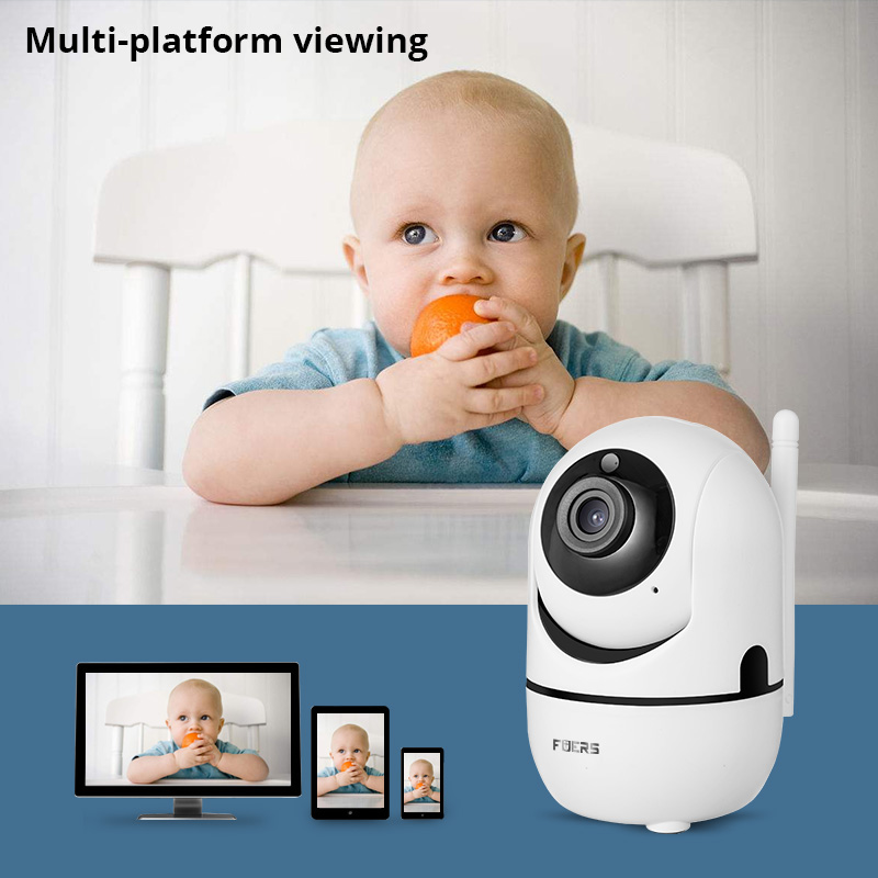 Image 5 - Fuers 1080P IP מצלמה Tuya APP תינוק צג אוטומטי מעקב אבטחה מקורה מצלמה מעקבים טלוויזיה במעגל סגור אלחוטי WiFi מצלמהמצלמות מעקב   -