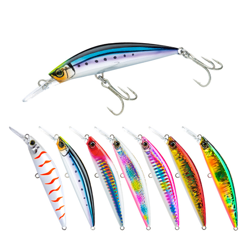 1PCS 9cm 27g Minnow Fishing Lures Wobblers Crankbaits Jerkbaits Artificial Hard Baits Hooks 3D Eyes For Fishing Carp Pesca Isca