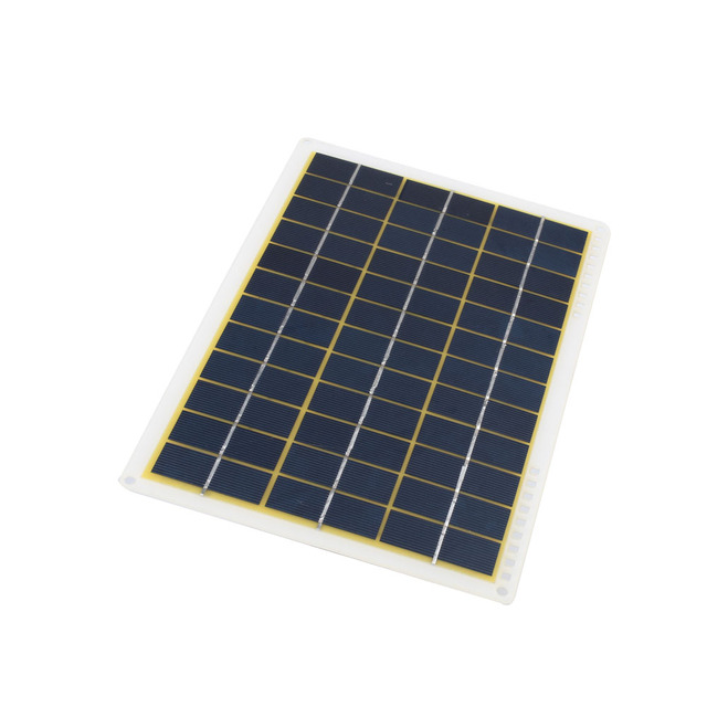 15W 27*18.5*0.3cm Solar Charging Equipment Solar Panel Phone Charger Home Improvement Travel Camp IP65 Solar Cells Powered 2