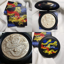 Guicami dragão chinês padrão highlighter shimmer highlighter rosto bronzer rosto abrilhanter highlighter maquiagem paleta cosméticos
