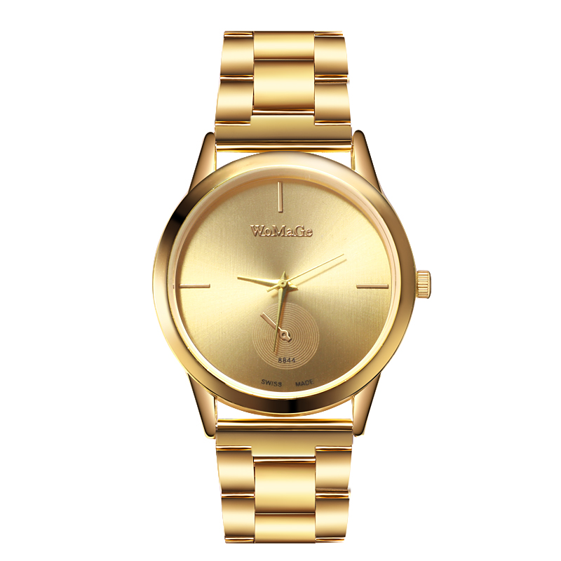 2019 Watch Women Luxury Women Gold Watches Fashion Womage Stainless Steel Quartz Watches Ladies Watches Montre Femme Reloj Mujer