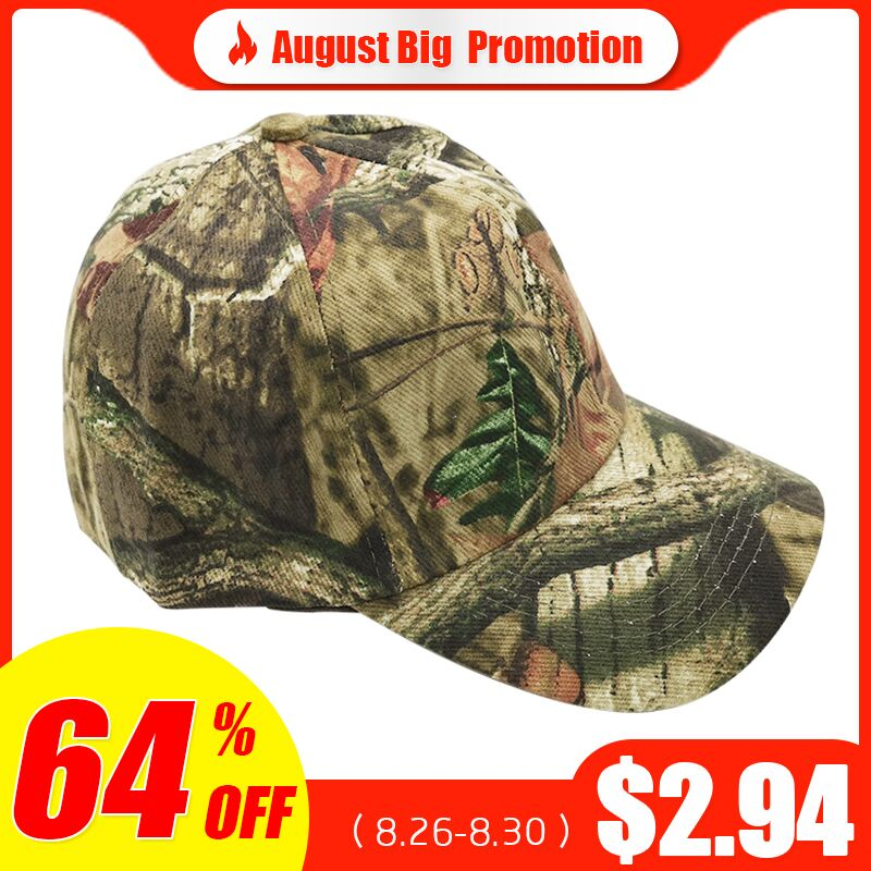 Men 39 s Outdoor Hunting Cap Camouflage Hunting Hat Tactical Bionic Camo Fishing Cap Hiking Men 39 s Baseball Cap Camping Peaked Cap in Hunting Caps from Sports amp Entertainment