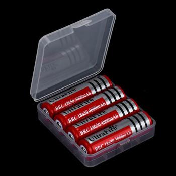 18650 pojemnik na baterie przenośne twarde plastikowe opakowanie na baterie uchwyt schowek na 4 #215 18650 baterie plastikowe etui # BL tanie i dobre opinie HEYGENIALES Battery charger