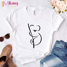 Женская футболка с принтом животных летняя Готическая коротким