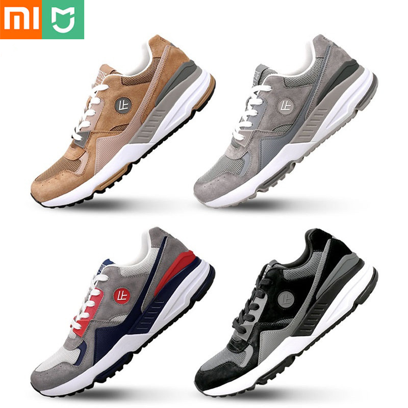 Original Xiaomi YouPin FREETIE chaussures de sport rétro confortable portable respirant course chaussures haute élasticité surface nette pour hommes