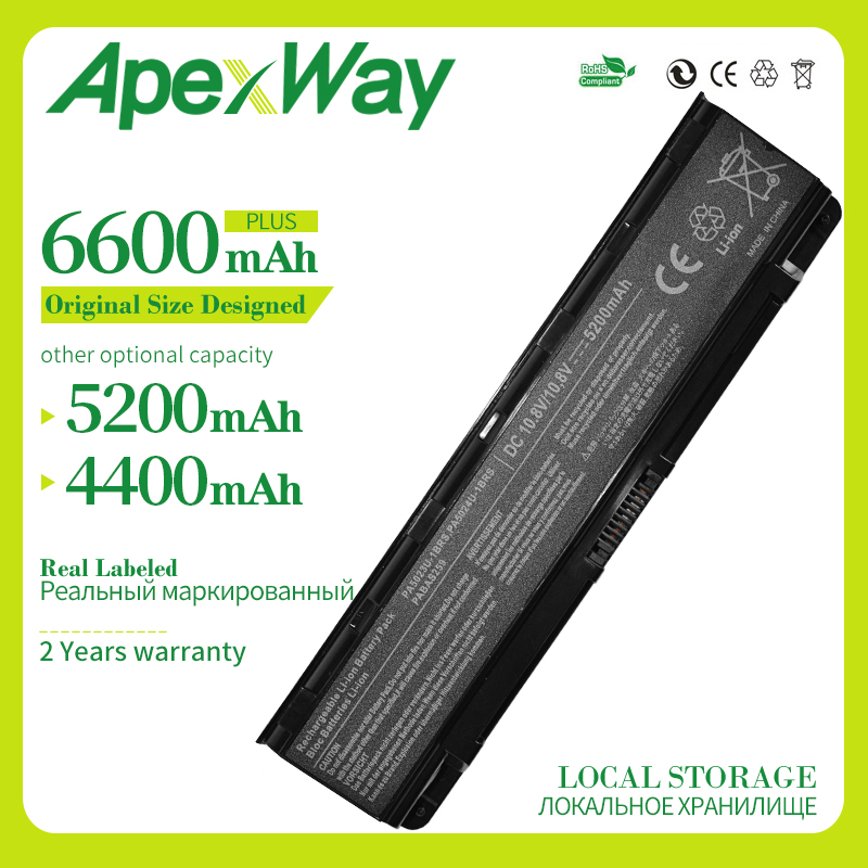 Apexway Laptop battery for <font><b>Toshiba</b></font> Satellite C50 C800 C850 C855 C855D <font><b>L800</b></font> L830 L840 L855 L870 L875 M800 P800 P850 P855 P870 image