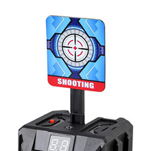 Cel elektryczny automatyczne resetowanie strzelanie cel cyfrowy dla pistoletów Blaster Accs