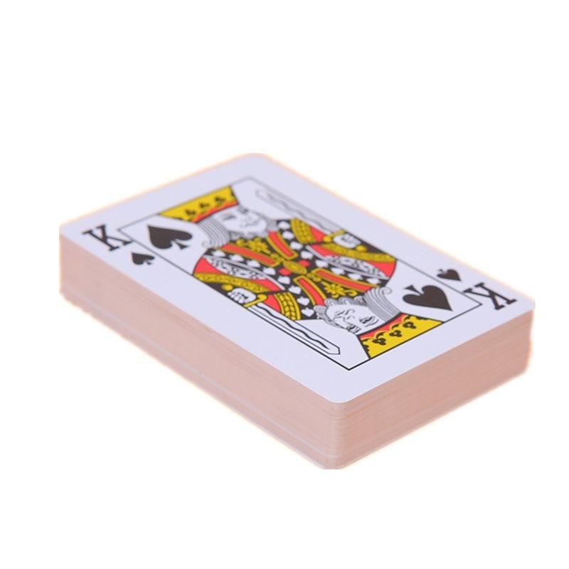 Quality Waterproof PVC Plastic Playing Cards With Plastic Box 54pcs Deck Poker Classic Magic Tricks Y4UD