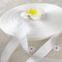 草生白 13 ミリメートル × 150 メートル 100% 純粋な絹の刺繍リボン薄型タフタ高品質シルクリボンアーニャリボン手芸