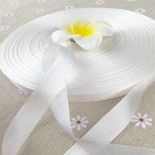 Ongeverfde Ruwe witte 13mm X 150m 100% pure zijde borduurwerk lint dunne taffeta hoge kwaliteit zijde lint Anya lint Handwerk