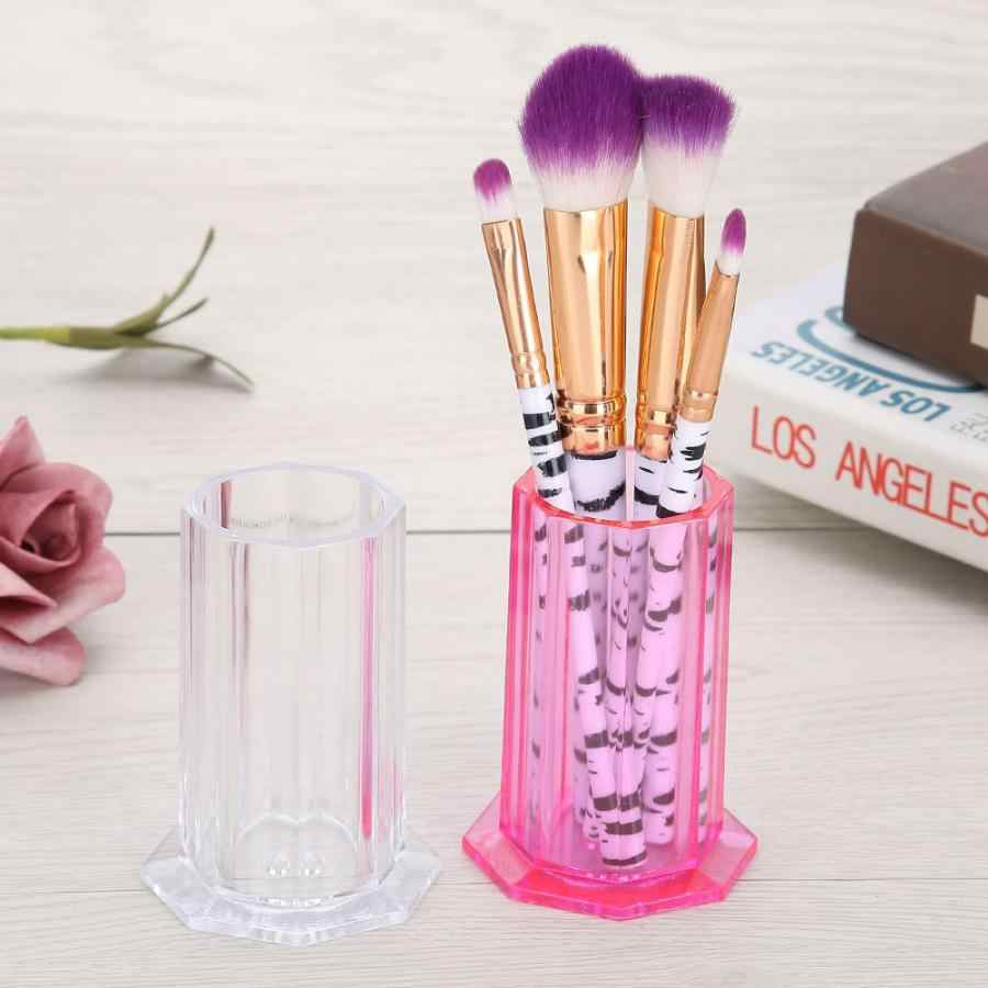 Makeup Brushes Organizer Nail Art Brushes Storage Holder Nail Painting Pen Case Organizer Manicure Tools Container