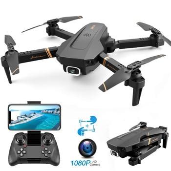 V4 WIFI FPV Drone WiFi live video FPV 4K/1080P HD Wide Angle Camera Foldable Altitude Hold Durable RC Drone