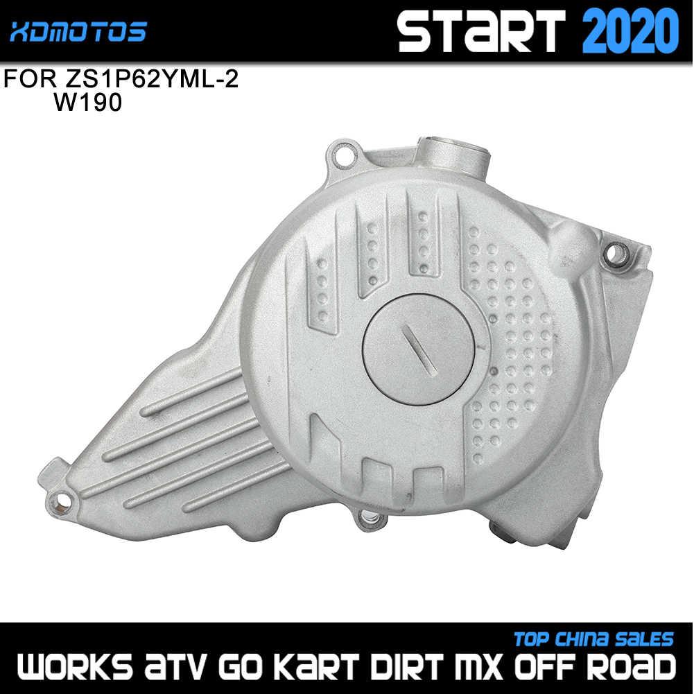 Мотоциклы зажигания СТАТОР Крышка для 2 клапана Zongshen 190cc Z190 W190 ZS1P62YML-2 двигателя мотоцикла Dirt Pit Bike Atv Quad Запчасти