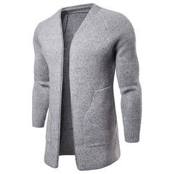 Automne hiver coupe mince hommes chandails pullover décontracté hommes chandail vêtements