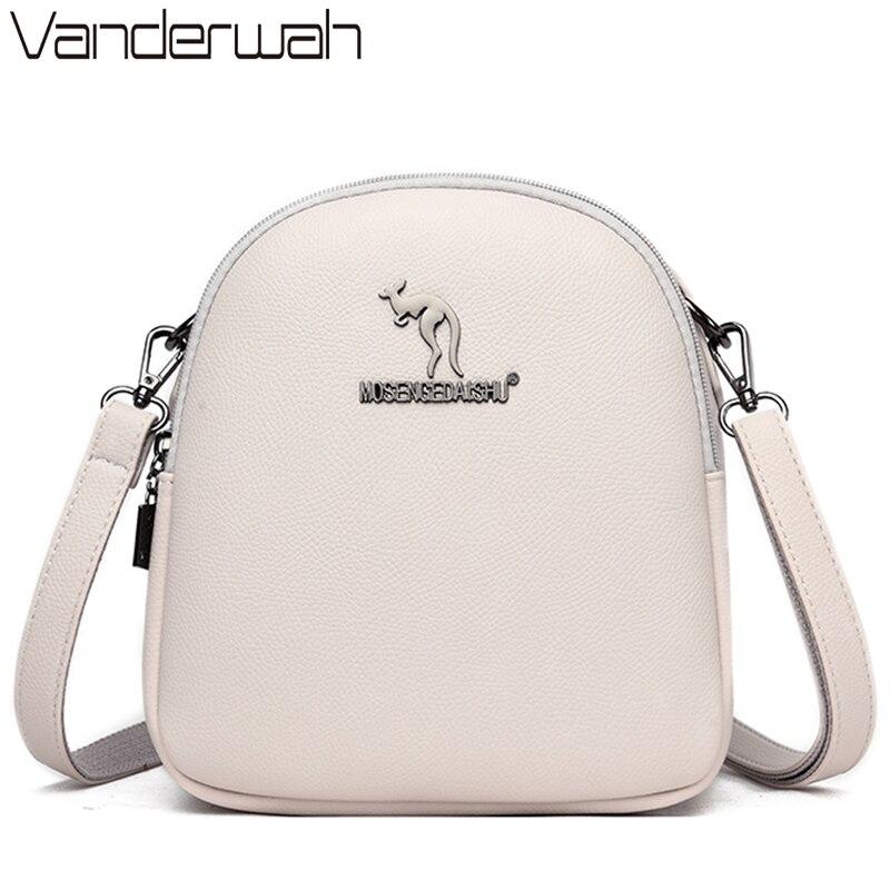 Kangaroo Brand Soft Leather Luxury Handbags Women Bags Designer Handbags Quality 2020 Lady Crossbody Shoulder Bags For Women Sac