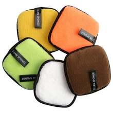 5 шт многоразовые ватные диски для снятия макияжа
