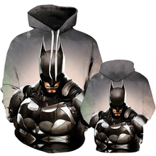 Batman 3D Print Sweatshirt Hoodies Men and women Hip Hop Fun