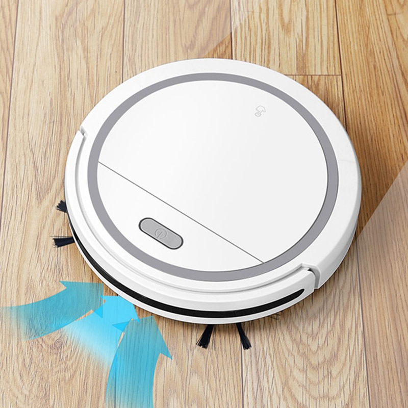 QDRR Multifunctional Robot Vacuum Cleaner , 3-In-1 Auto Rechargeable Smart Sweeping Robot Dry Wet Sweeping Vacuum Cleaner Home