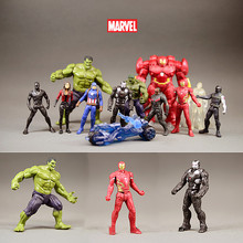 Marvel Avengers 3 Infinity War Movie Anime Super Hero Captain America Ironman Spiderman Thor Hulk Superhero Figurine Toys цена 2017