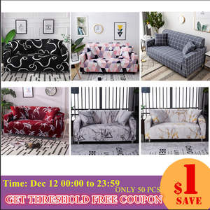 Slipcovers Couch-Cover Sofa-Towel Living-Room Elastic Cotton Style Two/three/Four-seaternew