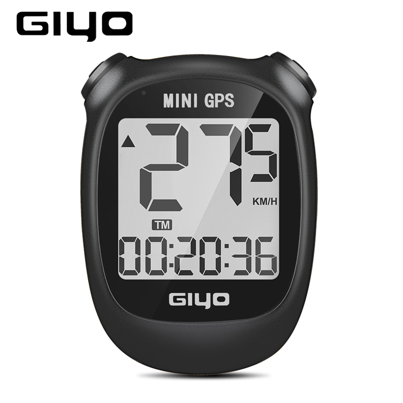 GIYO <font><b>GPS</b></font> <font><b>Bike</b></font> <font><b>Computer</b></font> Wireless Cycling <font><b>Computer</b></font> Bicycle Speedometer Odometer Waterproof Cycle Bicycle <font><b>Computer</b></font> for Road MTB image