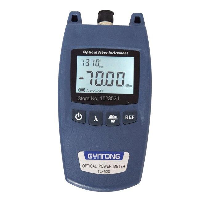 شحن مجاني TL 520 الألياف البصرية السلطة متر الألياف كابل ضوئي تستر 70 ~ + 10dBm