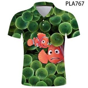 Polo Shirt Finding Nemo Anime