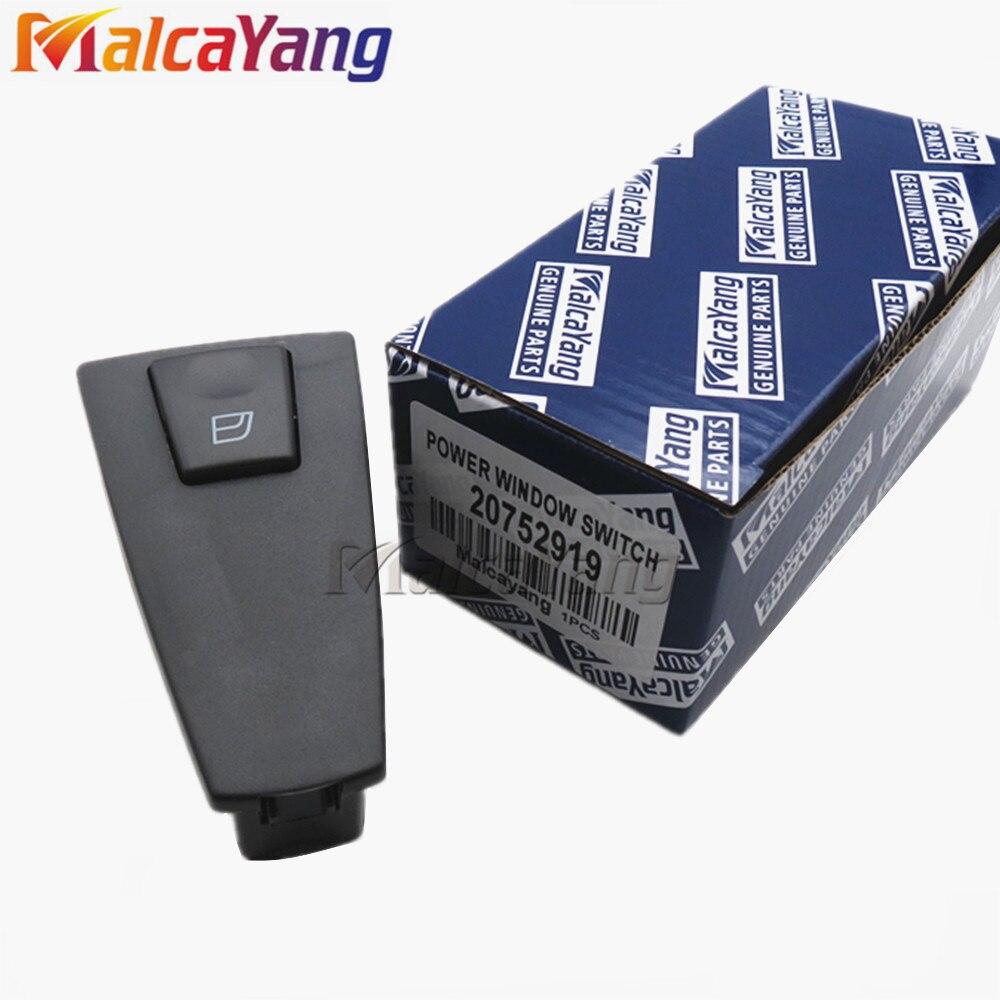 Power Window Switch 21543901 20752919 Passenger Side For Volvo Truck FH12 VNL