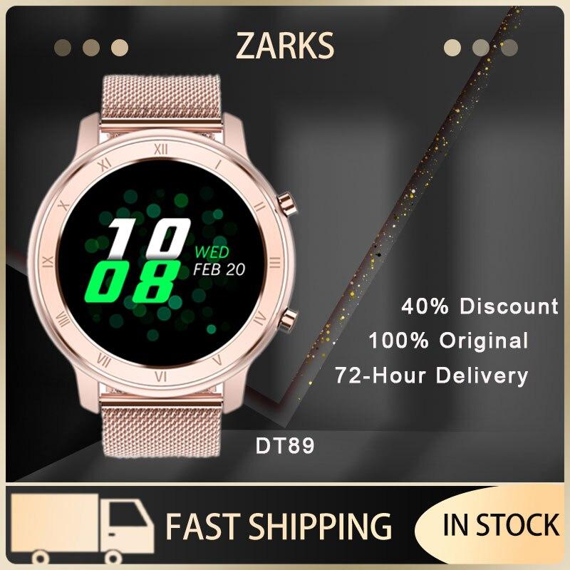 Permalink to ZARKS Smart Watch Summer Women's Business Exercise Heart Rate Detector Steel Fitness Bracelet IP68 Waterproof Watch For Ladies
