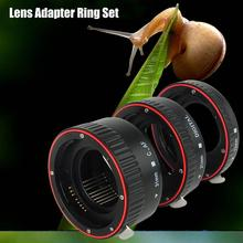 Auto Focusing Macro Extension Lens Adapter Tube Rings Set 13/21/31mm Camera Lens for Canon for EOS EF Mount Accessories