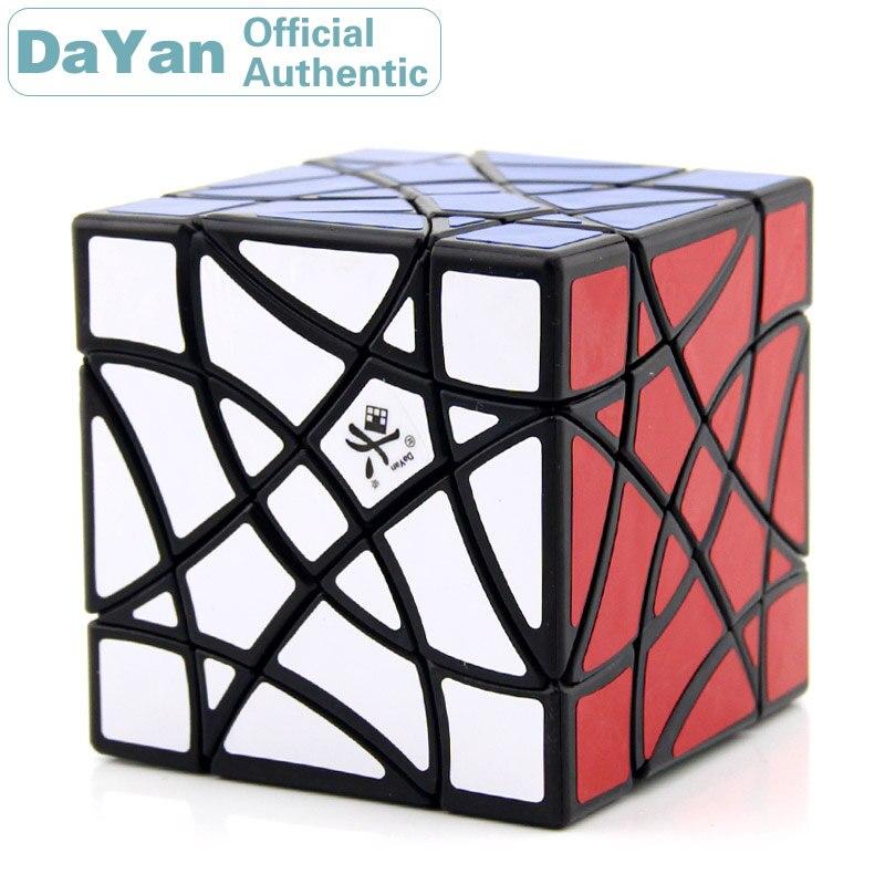 DaYan Shuangfeiyan double hirondelle Cube magique professionnel vitesse torsion Puzzle Antistress Fidget jouets éducatifs pour les enfants