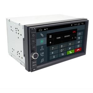 Image 4 - Eunaviユニバーサル2 din 7 アンドロイド10車のラジオステレオマルチメディアプレーヤー2din gpsナビゲーション4グラム無線lan usb TDA7851タッチスクリーンbt