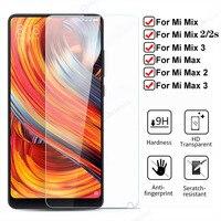 Actutech 9H HD Gehärtetem Glas Screen Protector für Xiaomi Mi Mix 3 2S 2 Max 3 Toughed Schutz glas auf Xiaomi Mi max 2